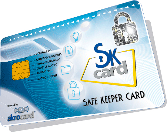 Safe Keeper Card